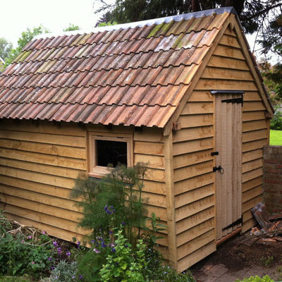 Bentley shed conversion