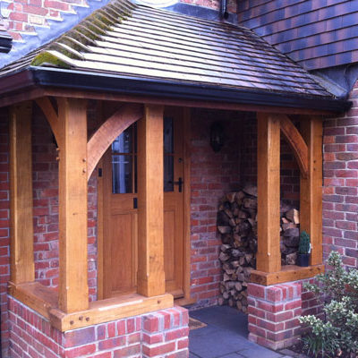 Liphook oak porch