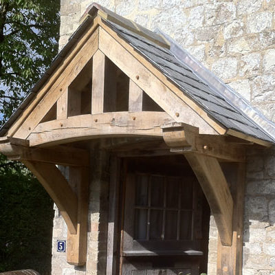 Crondall oak porch